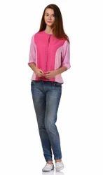 Pink Girls Top
