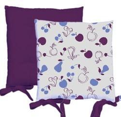 Printed Cotton Chair Pad
