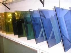 Tinted Reflective Glass