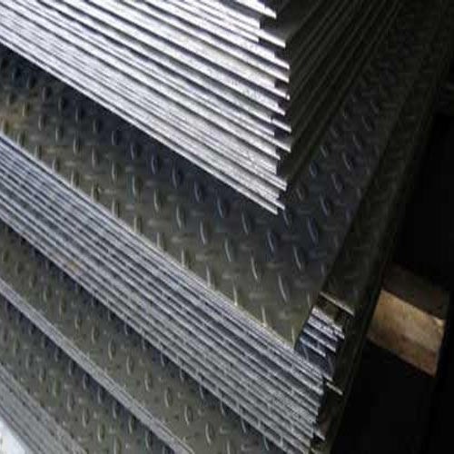 Checkered Plate Ms Checkered Plates Wholesaler From Indore