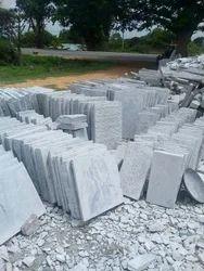 Grey Big Slab Pavement Stone, Thickness: 20-25 mm, For Flooring