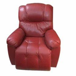 Plain Jacquard Leather Sofa