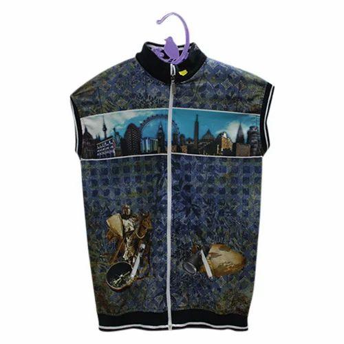 5af2a25d0 Silk Polo Neck Sleeveless Boys T-Shirt Digital Printing Service | ID ...