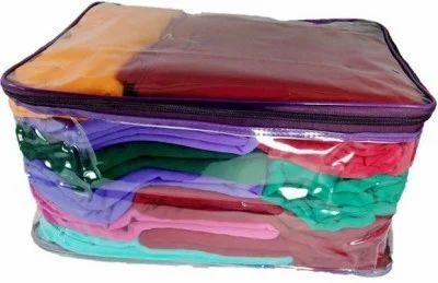e75f875e84a Plain Transparent Saree Cover Bag