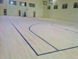 Maple Wood Basketball Court