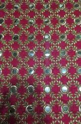 Mirror Embroidered Fabrics