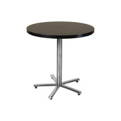 Round Cafeteria Table