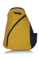 Dark Yellow Backpack Sling Bag
