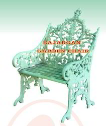 LUMEN Polished Cast Iron Chair, Size: 2feet