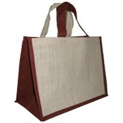 Jute Brown Shopping Bags