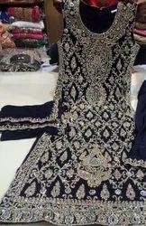 Wedding Wear Handwork Embroidery Salwaar Kameez