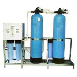 500 LPH Water Softener Plant