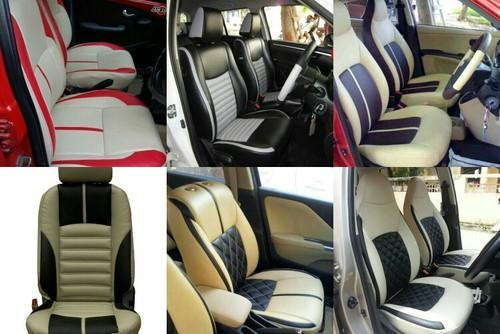 Astounding Black And Blue Feno Leather Seat Cover Pdpeps Interior Chair Design Pdpepsorg