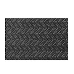 Black Electrical Rubber Mat