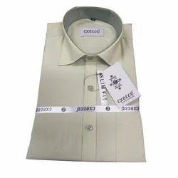 Cotton Men Mens Formal Shirt, Machine wash