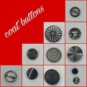 Plastic Round Coat Buttons, For Garments, Packaging Type: Polypack