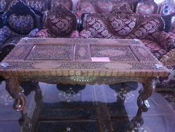 Wooden Carved Coffee Table