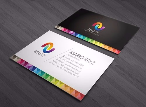 Multi color visiting cards view specifications details of multi color visiting cards reheart Choice Image