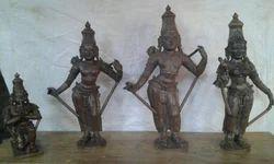 Sri Ram Parivar Statue 2 In Pacnhaloha