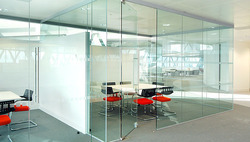 Commercial Toughened Glass Partition Service