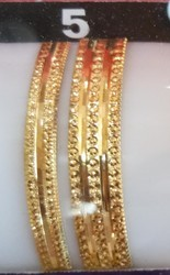 Karekar Jewellers Yellow Gold Bangles Set