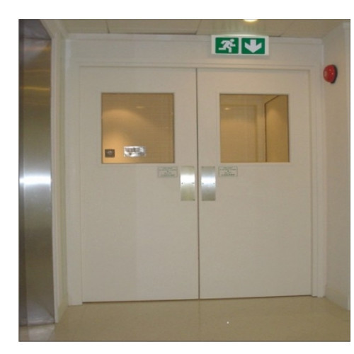 Hospital wooden fire rated door at rs 25500 piece - What is a fire rated door ...