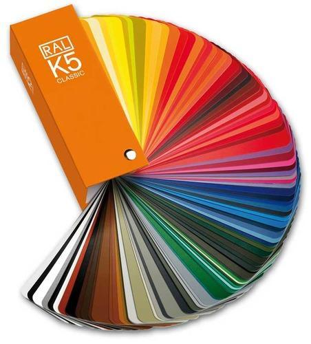 Ral Color Chart K5 K7 At Rs 1050 Piece Shade Cards Id