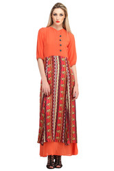 Women's Layered Long Dress