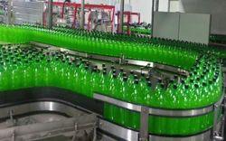 Conveyor Water Bottle Filling Machine