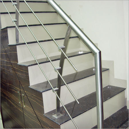 Stainless Steel Stair Railing - View Specifications ...