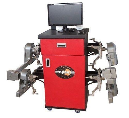 Wheel Alignment Machine >> Truck Computerized Wheel Alignment Machine In Hind Nagar Lucknow