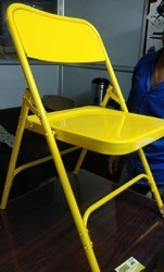 Multicolor Mild Steel Tolix Folding Chairs, For Hotel