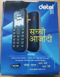 Blue Detel D1 China Mobile Phone