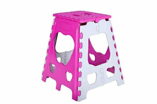 Pleasing Plastic Folding Stool Table 18 Inch 1 5 Feet Creativecarmelina Interior Chair Design Creativecarmelinacom