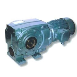 Three Phase Helical Worm Geared Motor