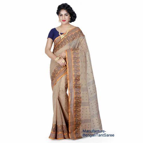 dd59183893 Tangail Cotton Tant Saree at Rs 600 /piece | टंगैल साड़ी ...