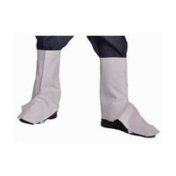 Available In Many Colors Zipper Safety Leather Leg Guard
