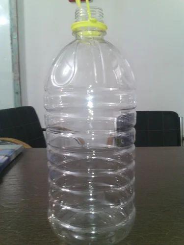 Pet Plastic Bottles, पेट बॉटल 5000मिलीलीटर
