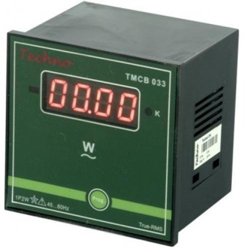 techno single phase programmable digital watt meter, tmcb 033 at rstechno single phase programmable digital watt meter, tmcb 033