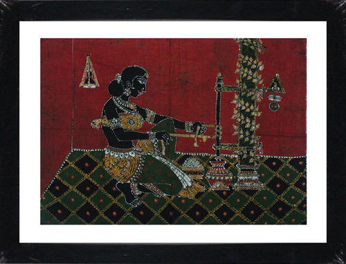 981f40dba631 Batik Art Of Gee Extraction By An Lady In Traditional Type - Caveman ...
