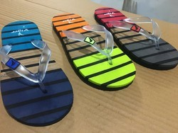 Male Rubber Flip Flops And Beach Slippers