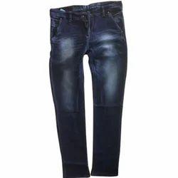 Dark Blue Slim Fit Mens Designer Jeans