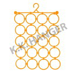 Yellow Scarf Hanger