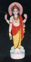Marble Dhanvantari Statue