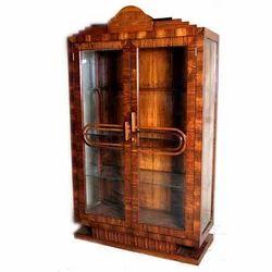 Art Deco Wood Almirah