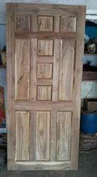 Tick wood door