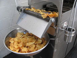 Potato Wafers Machine