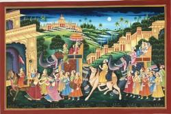 Maharaja Procession Paintings