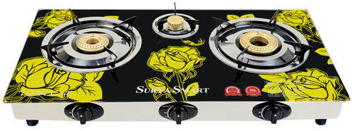 Gas Stove 3 Burner Gas Stove Manufacturer from Delhi