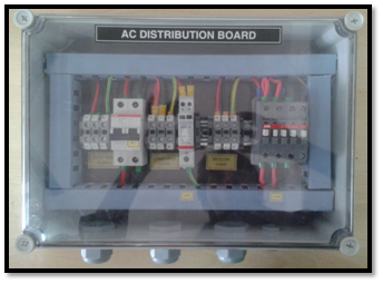 5 Kw Acdb Panel Distribution Board Nagasandra